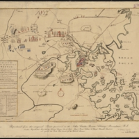 A Plan for the Town and Harbour of Boston